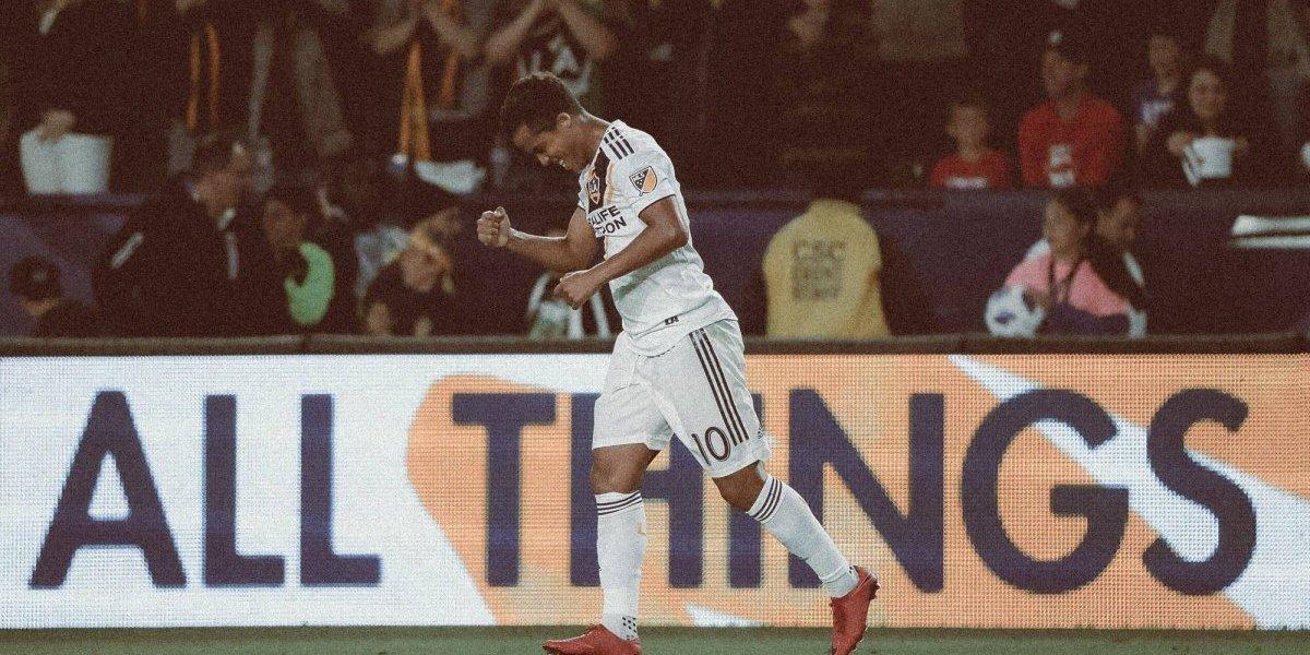 VIDEO: Giovani Dos Santos se reencuentra con el gol en el Galaxy
