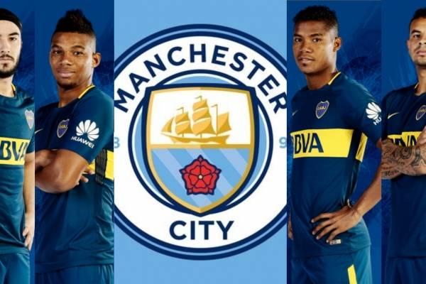 Jugador del Manchester City llegaría a Boca Juniors