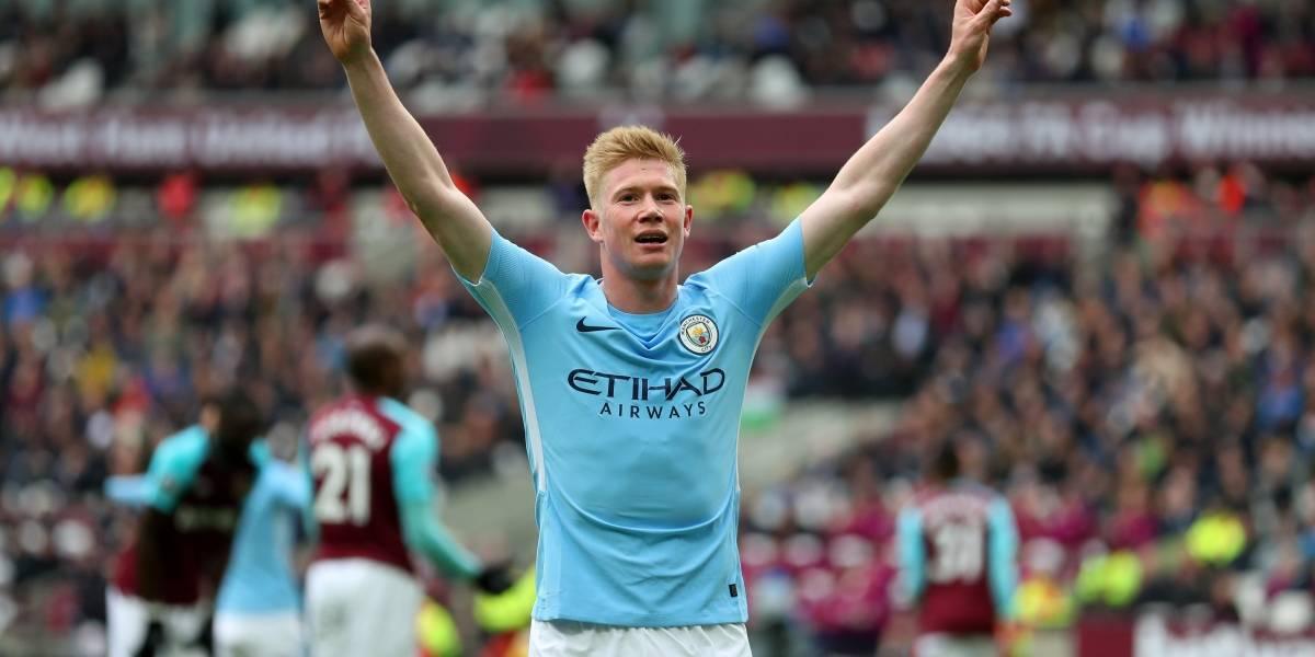 Manchester City sigue ratificando su estampa de campeón con goleada ante el West Ham United