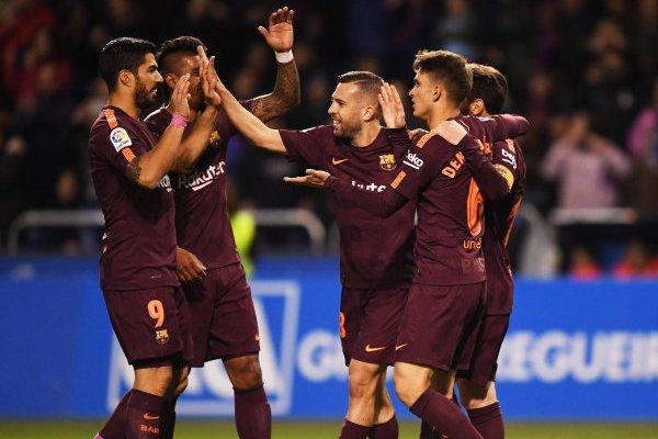 Barcelona no se cansa de celebrar / imagen: Getty Images