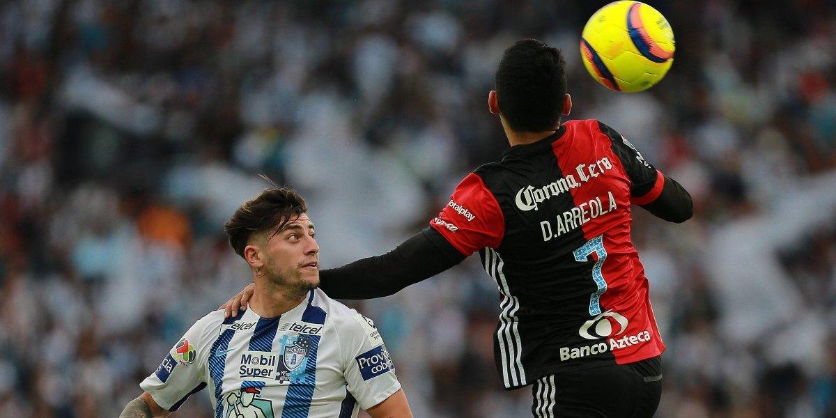 Ángelo Sagal es expulsado ante Atlas y deja en vilo la clasificación del Pachuca a playoff