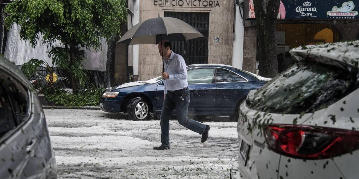 En cuatro delegaciones llueve menos y se inunda más