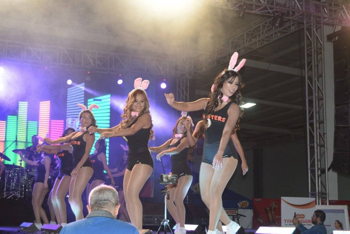 Con risas, porras y mucha diversión, s llevó a cabo el evento Chica Hooters Guatemala 2018. Foto: Mónica Avila