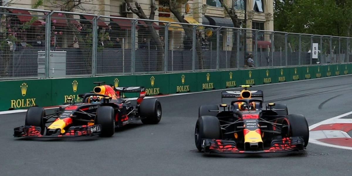 Ricciardo e Verstappen tomam 'pito' da Red Bull após batida no GP do Azerbaijão