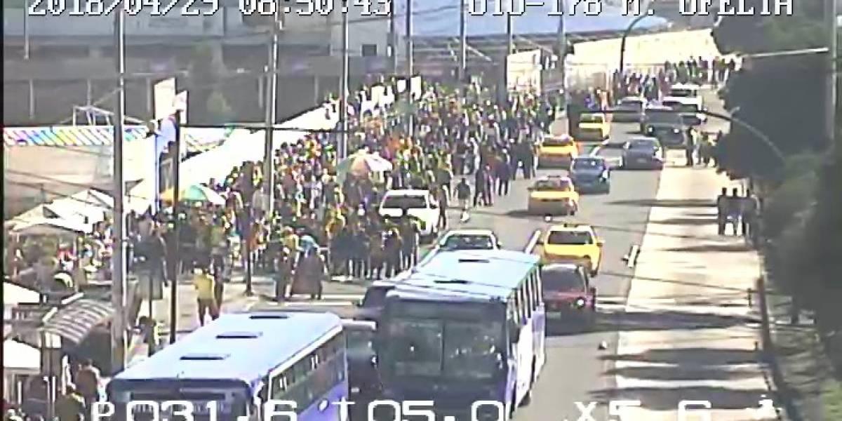 LDU vs. BSC: El ECU 911 brinda apoyo visual en los exteriores e interiores del Estadio Rodrigo Paz