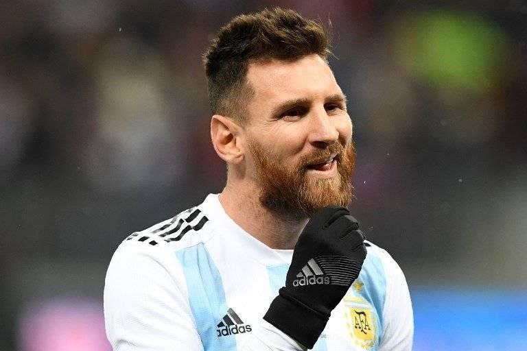 Lio Messi se lamenta