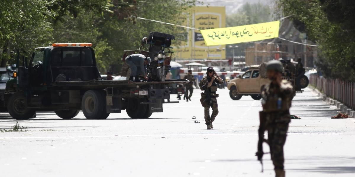 Doble atentado terrorista deja al menos 25 muertos en Kabul