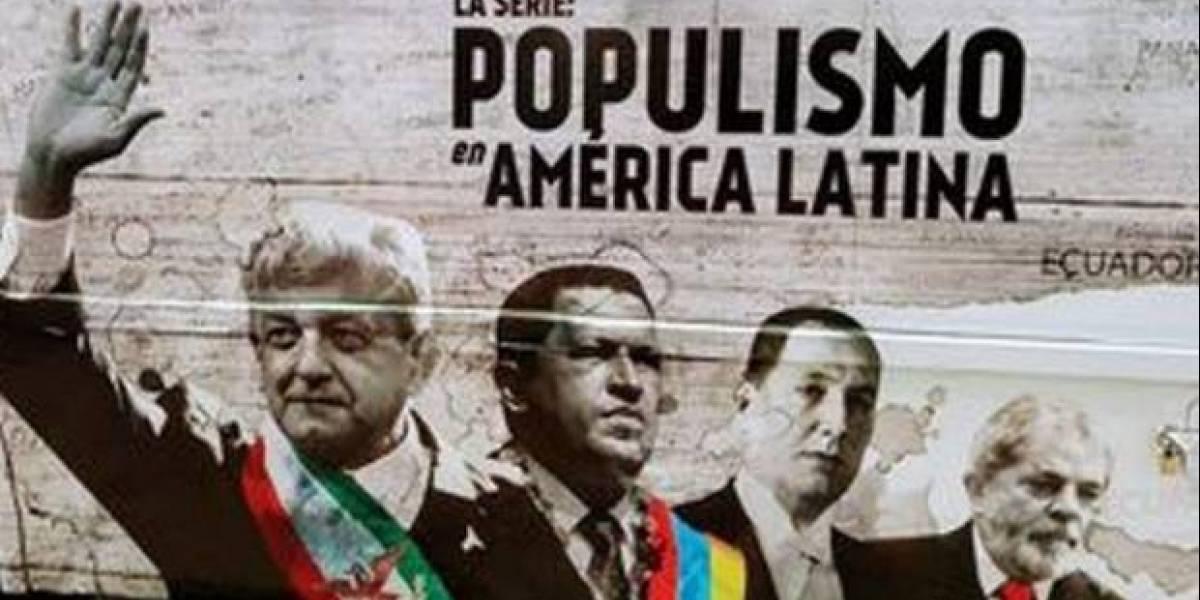 #Política Confidencial: NatGeo negoció serie sobre populismo