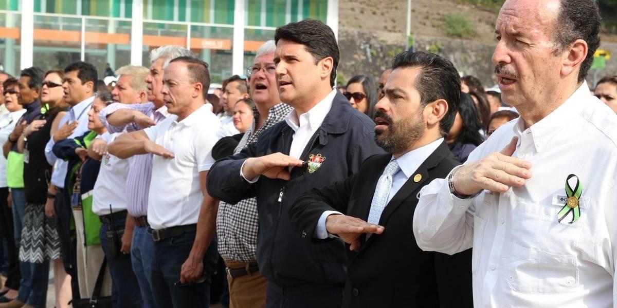 """Ricardo Quiñónez, alcalde capitalino en funciones: """"Esto sigue adelante, estamos muy tristes"""""""