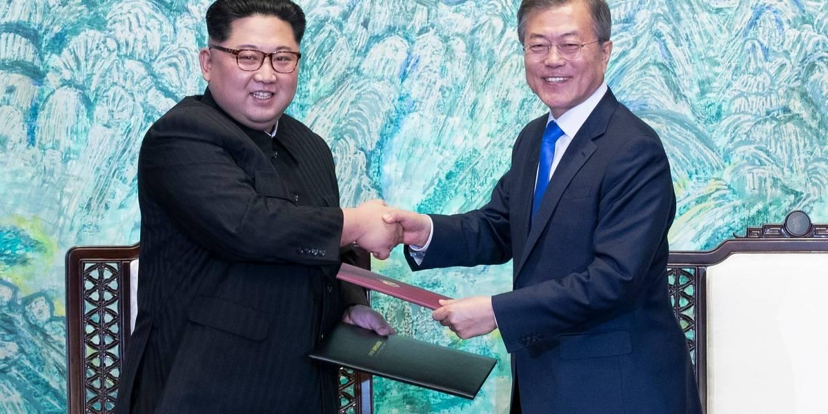 Presidente surcoreano pide al Parlamento ratificar declaración emitida con norcorea