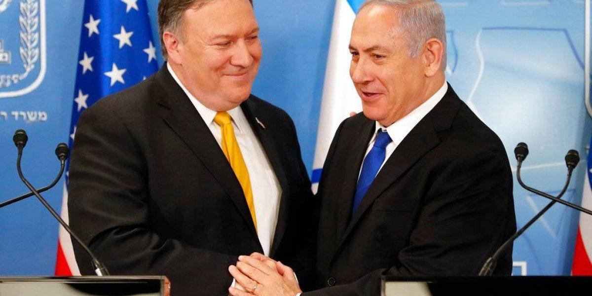 Pompeo: paz entre Israel-palestinos, una prioridad para EE. UU.