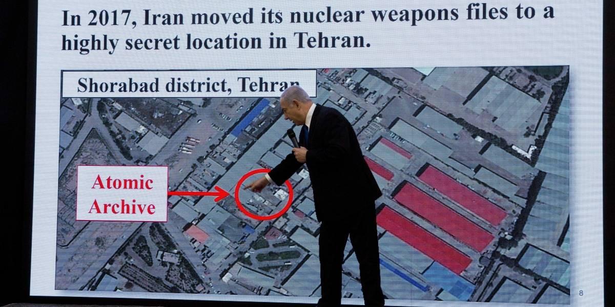Israel acusa a Irán de desarrollar un programa nuclear en secreto