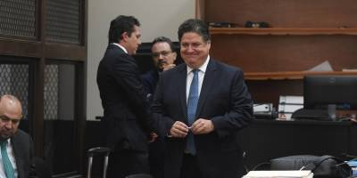 audiencia de declaración de Rodrigo Arenas y Andrés Botrán