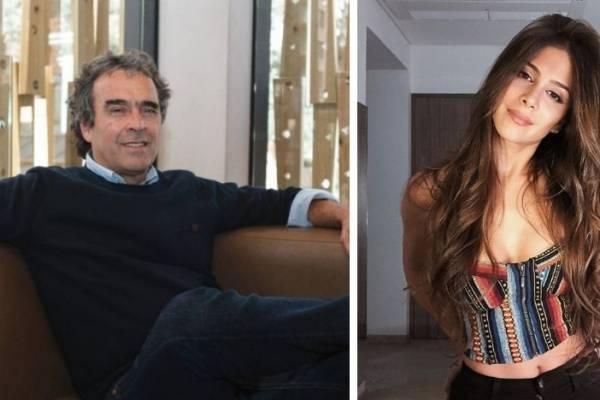 Sergio Fajardo y Greeicy