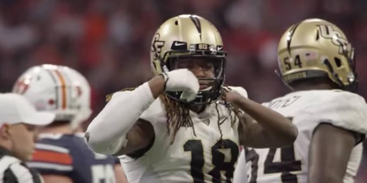 Ejemplo mundial: jugador de futbol americano que tiene solo una mano fue elegido en draft de la NFL