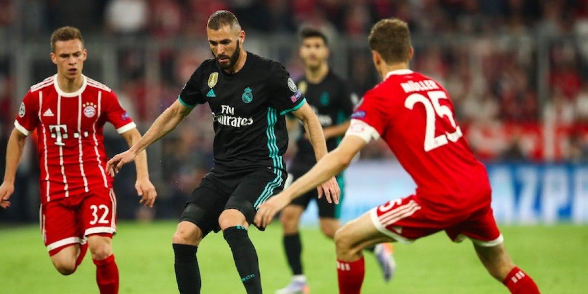 Real Madrid vs. Bayern Munich, ¿dónde y a qué hora ver la Champions?