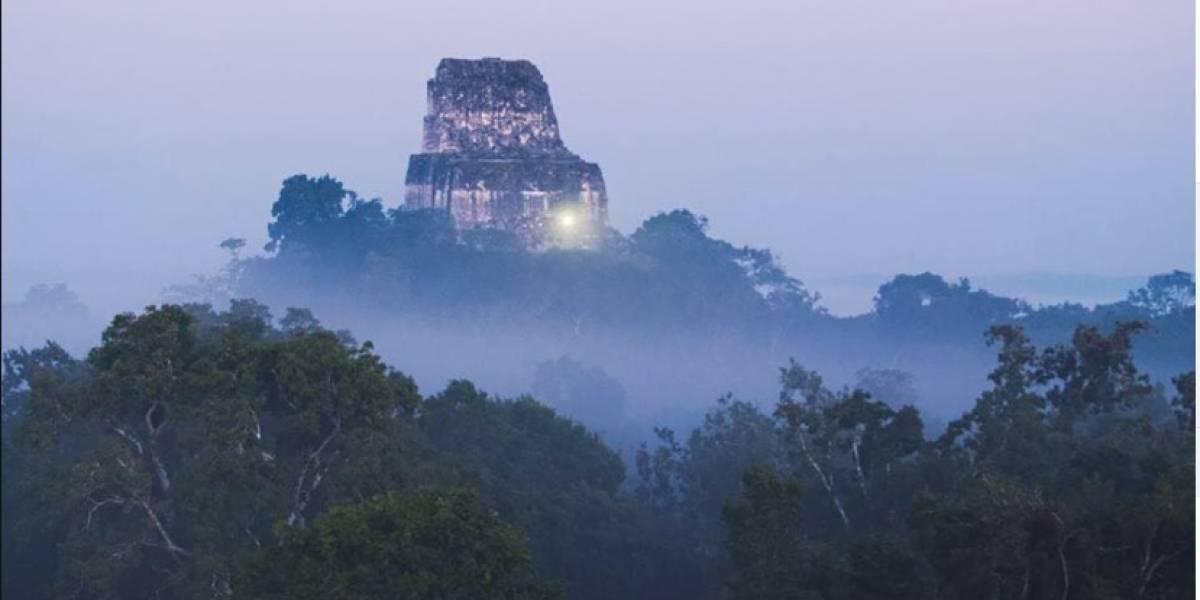 Imágenes muestran daños ocasionados por incendio al Parque Nacional de Tikal