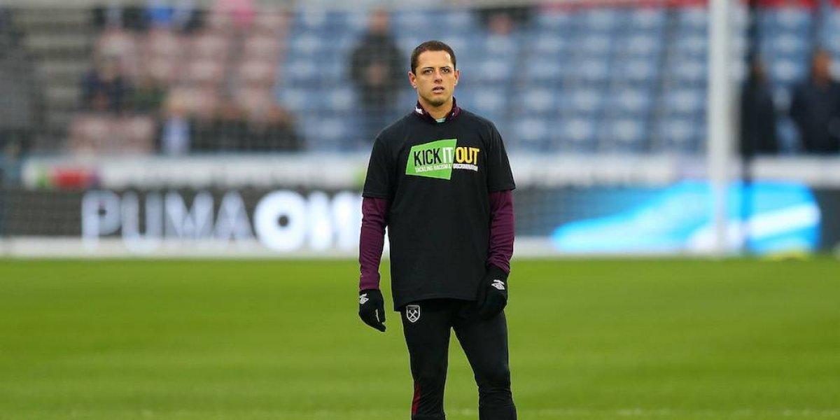 Chicharito busca salir del West Ham