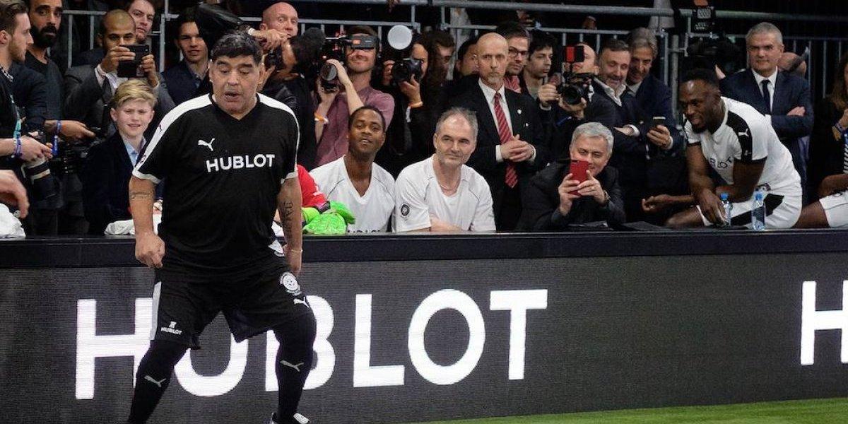 Maradona amenaza con demandar a FIFA 18