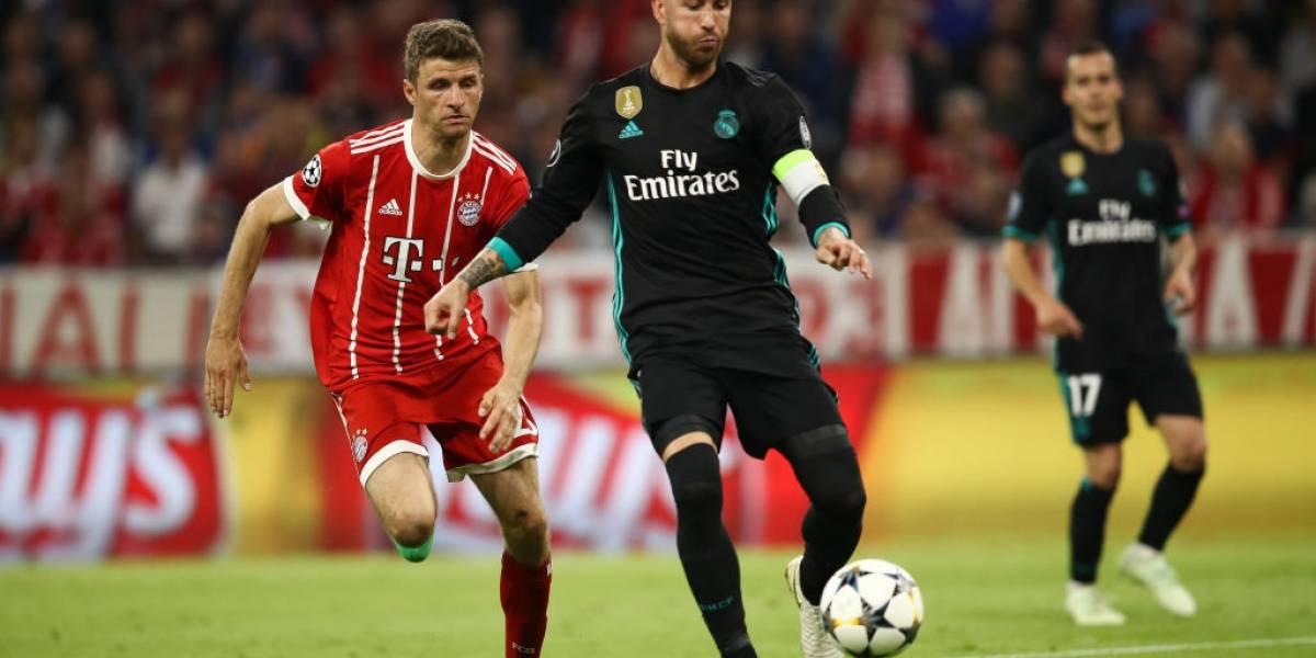 Real Madrid y Bayern Munich van por la gloria y la final de la Champions League