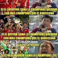 Los aficionados del Madrid se mofan del Barcelona
