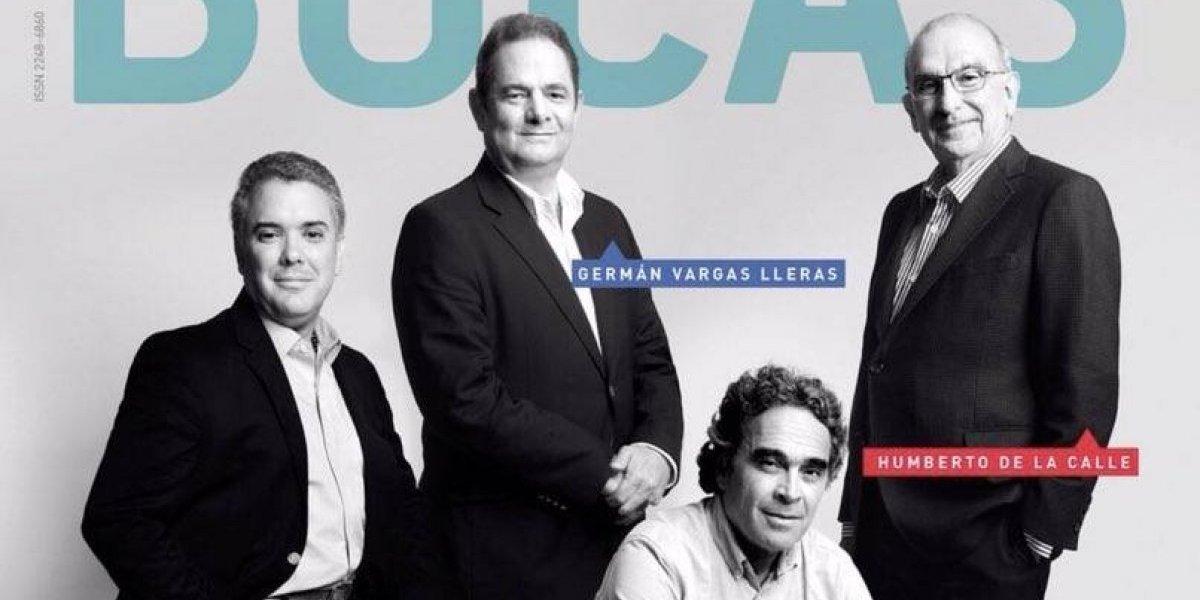 Polémica por portada de la revista Bocas en la que no sale Gustavo Petro