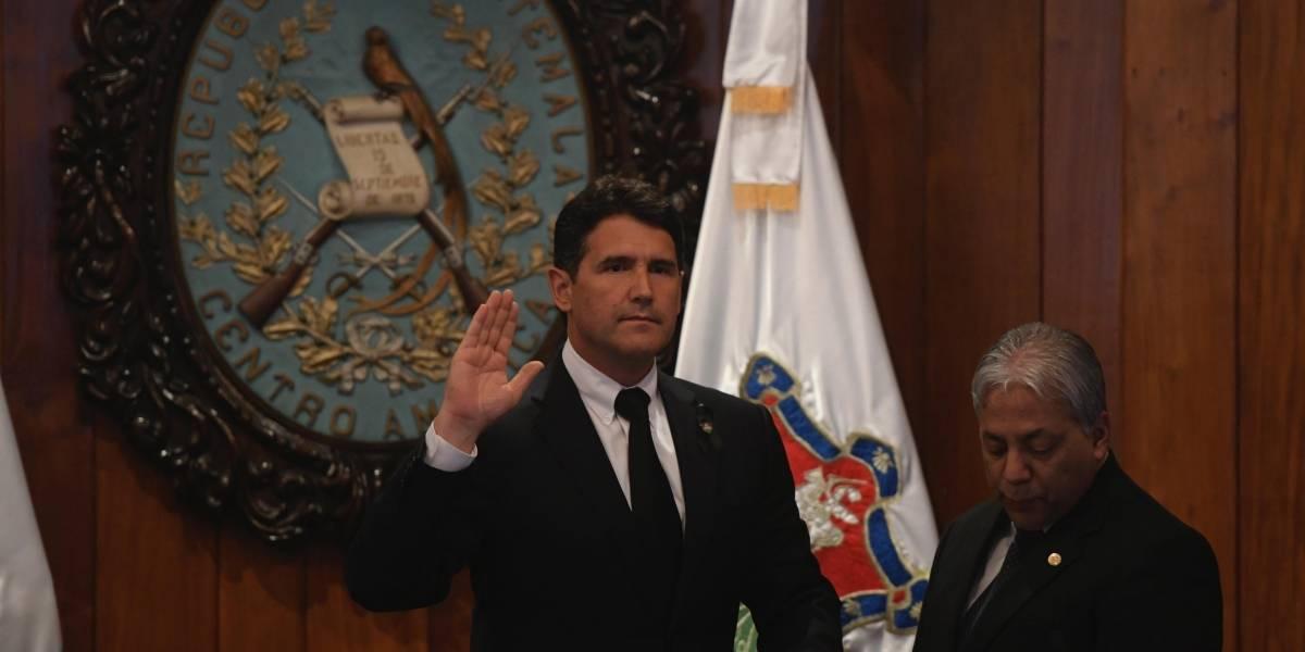 Ricardo Quiñónez Lemus es juramentado como el nuevo alcalde de la Ciudad
