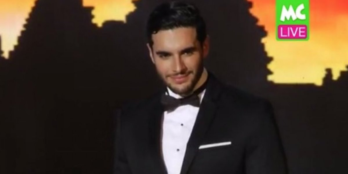 Joseph Disdier se luce en Mister International