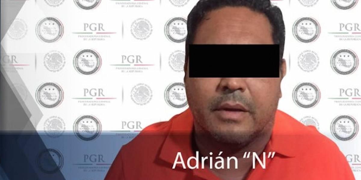 Capturan en Jalisco a presunto operador financiero del CJNG