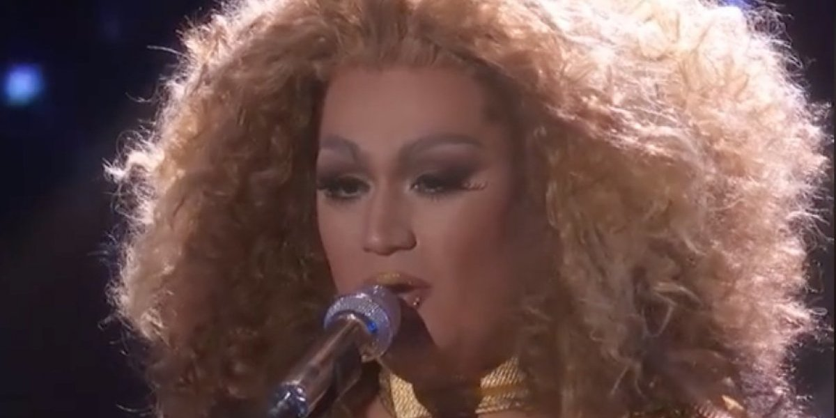 "Drag queen Ada Vox queda fuera de ""American Idol"""