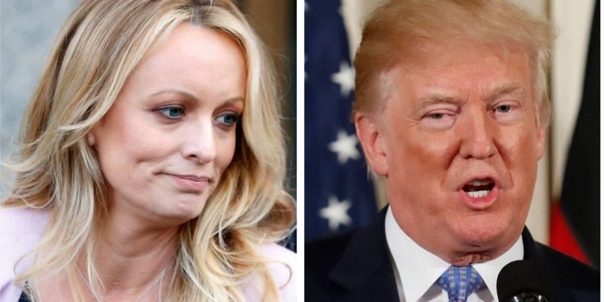 Atriz pornô Stormy Daniels processa Trump por difamação