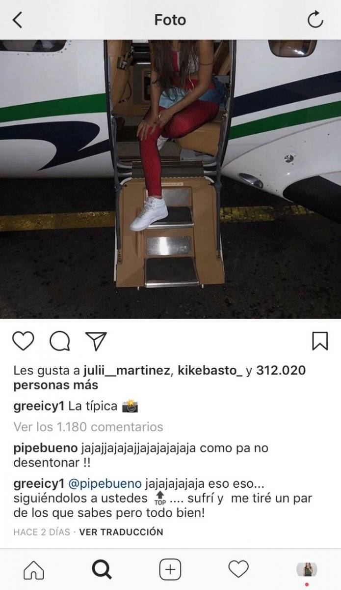 Greeicy y pipe bueno