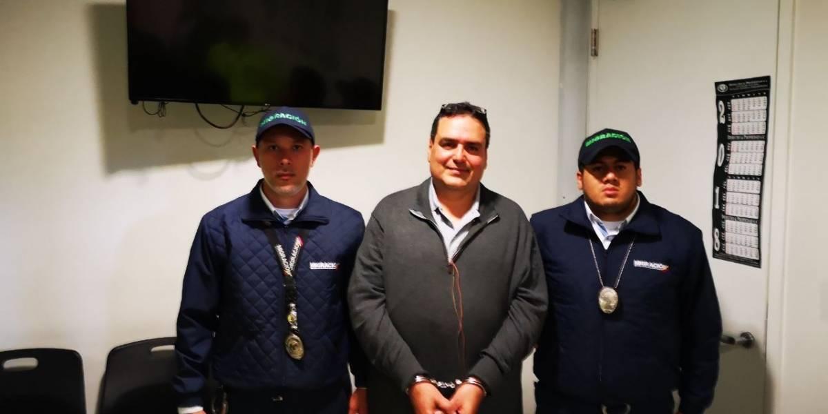 Migración Colombia detiene a 'Gordo Lindo' tras ser deportado de EE.UU.