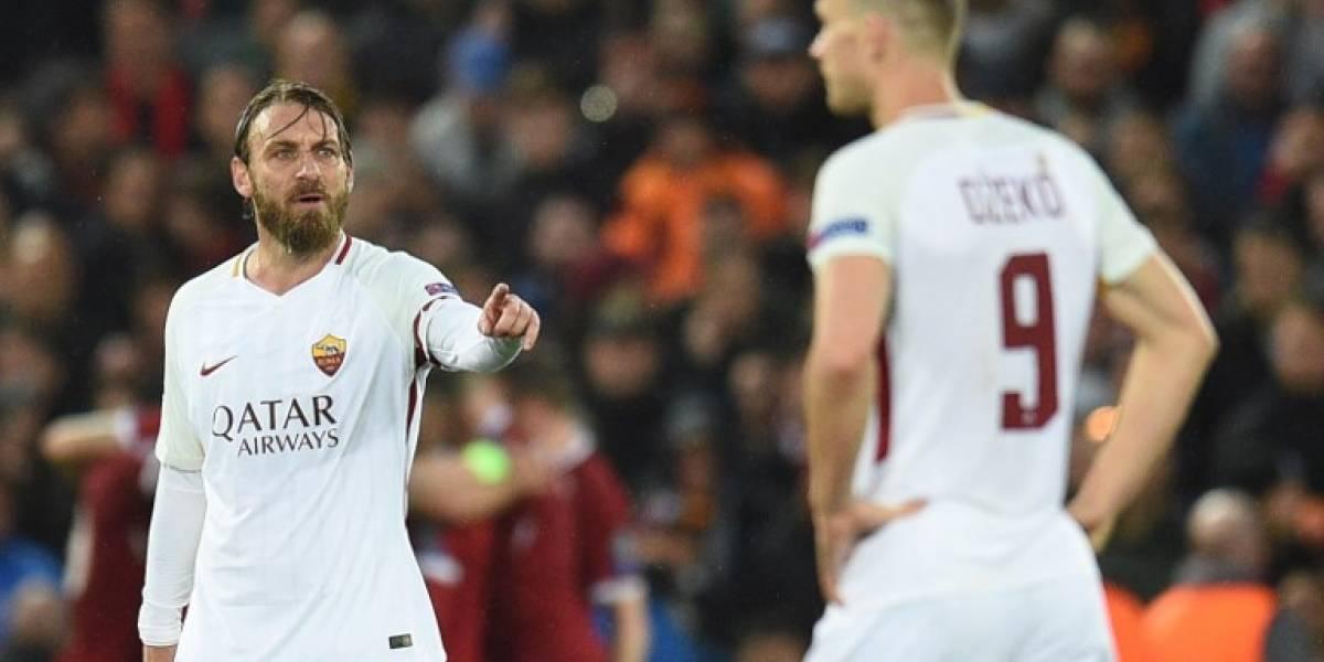 La Roma va por una remontada histórica ante el Liverpool