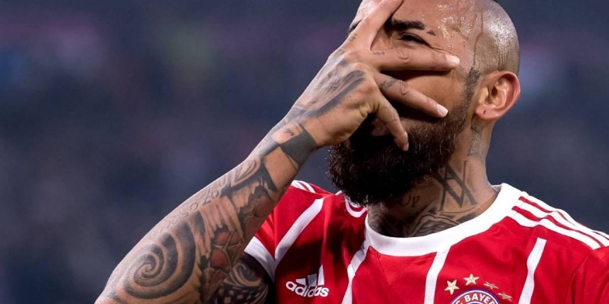 La polémica publicación de Arturo Vidal contra el árbitro y los jugadores del Madrid