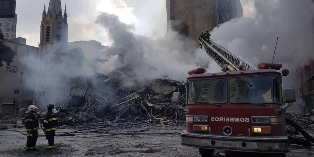 """""""O pior eram as crianças pedindo socorro e nós sem podermos ajudar"""", diz sobrevivente de incêndio em SP"""
