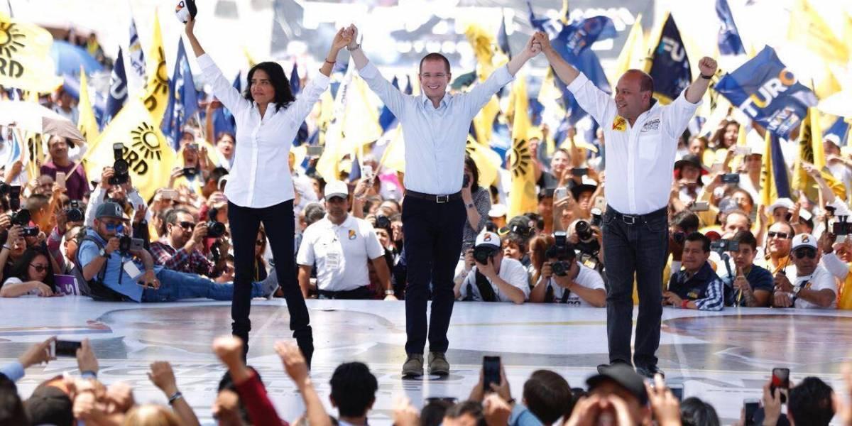 Barrales y Anaya respaldan arranque de campaña en Venustiano Carranza