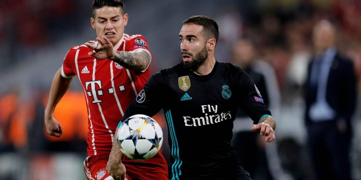 James Rodríguez y Bayern Múnich van por la remontada ante Real Madrid
