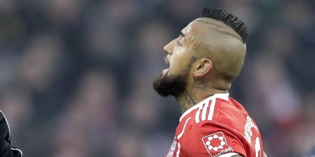 """""""Otra vez... penal, mier..."""": la furia de Vidal por el penal no cobrado al Bayern ante Real Madrid"""