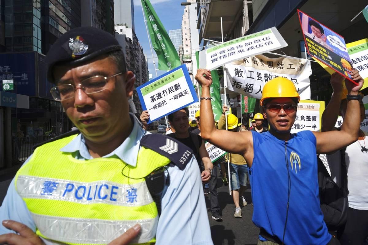 Hong Kong Foto: AP