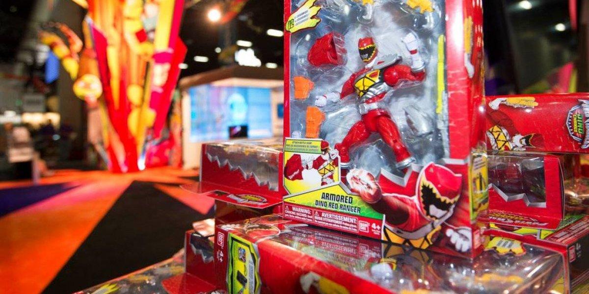 Hasbro compra a los Power Rangers