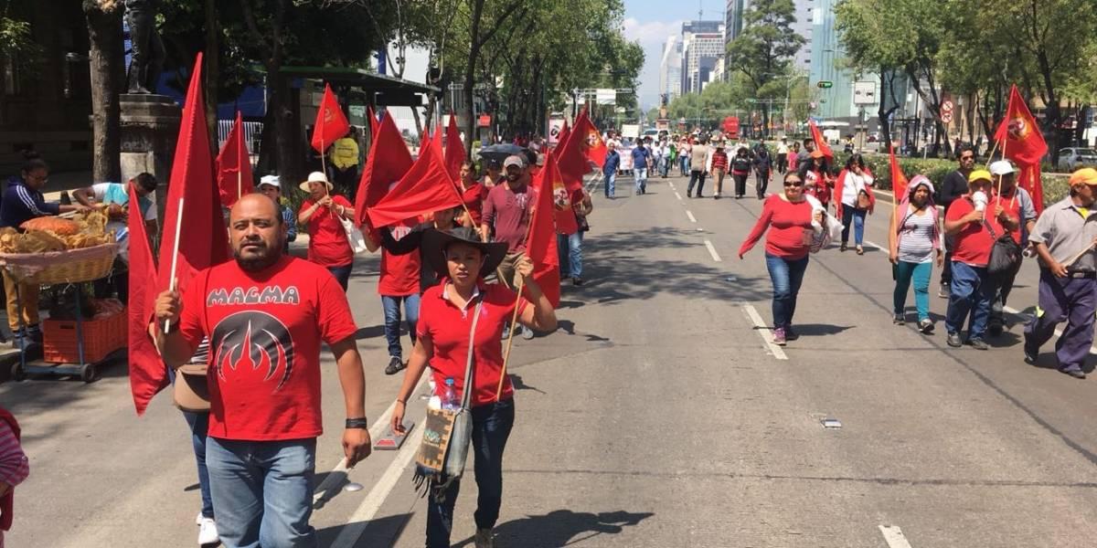 FOTOS: Así se vivieron las marchas por el Día del Trabajo en la CDMX