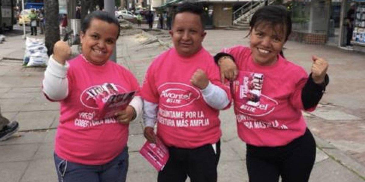 La verdad sobre la campaña de Avantel con personas de talla baja en Bogotá