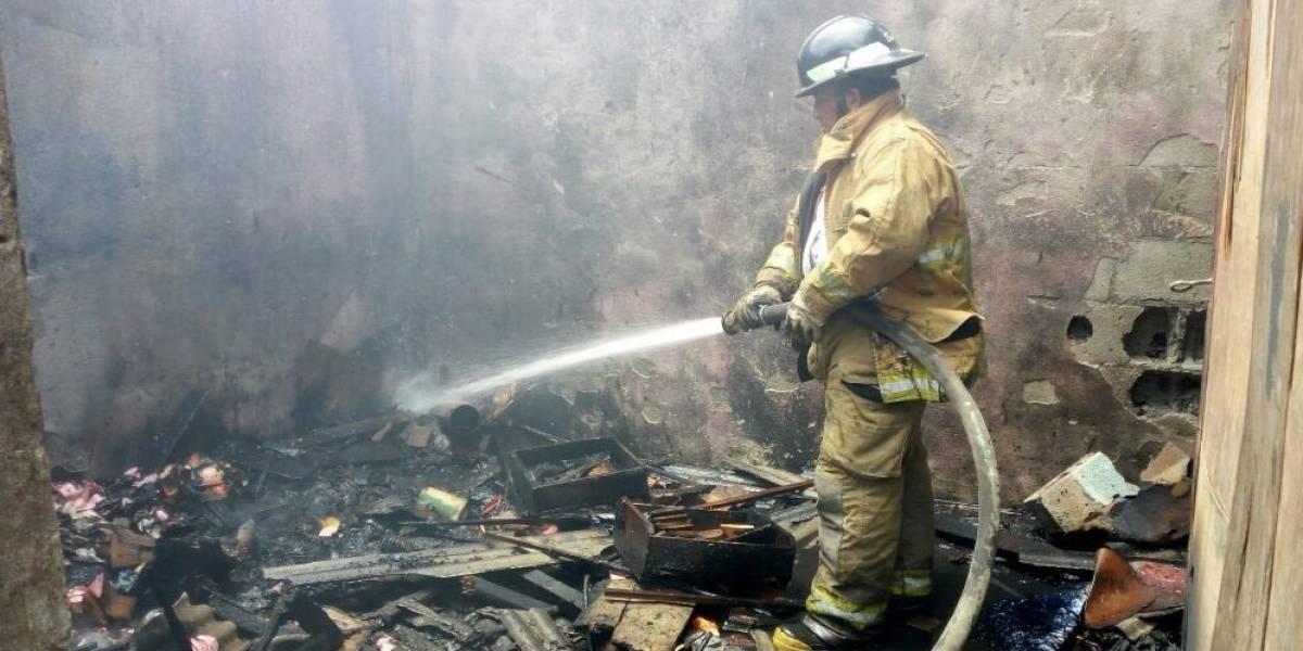 Un anciano resulta quemado por explosión de pirotécnica