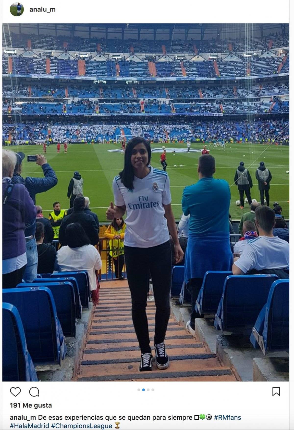 La goleadora nacional en el Bernabéu