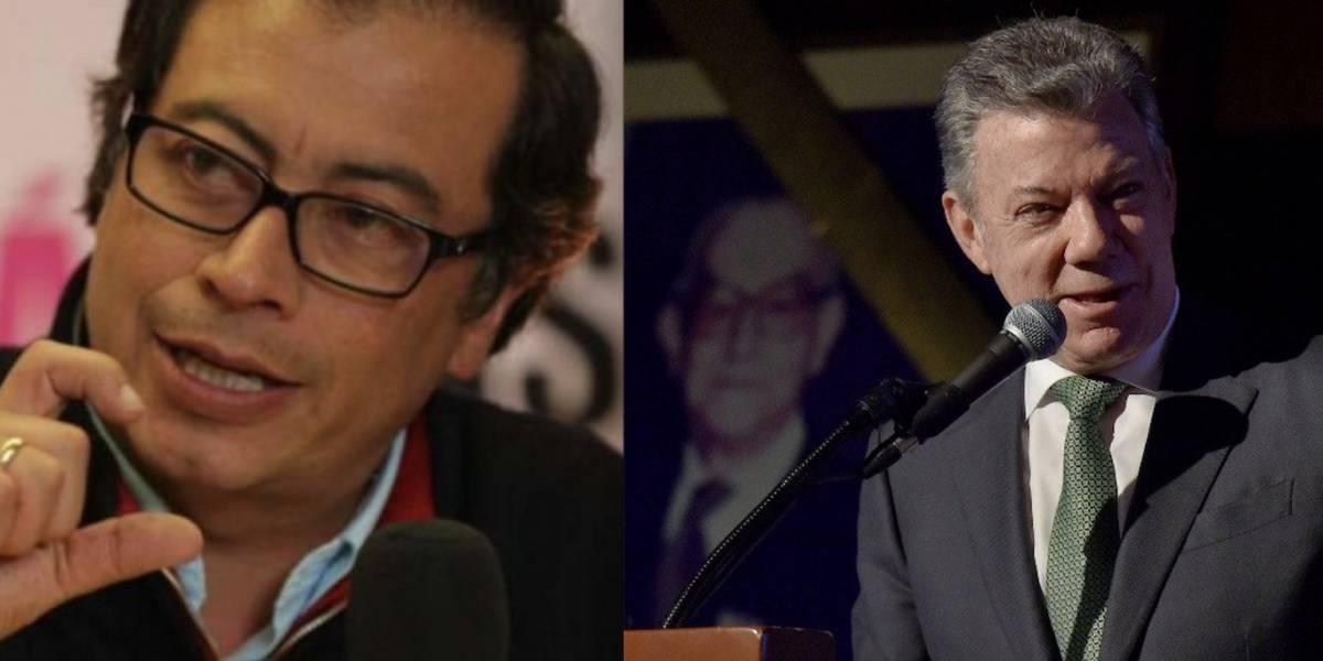 """Santos me traicionó dos veces"": Gustavo Petro"