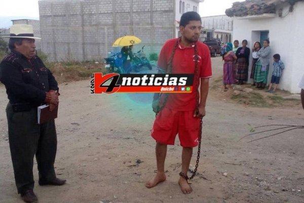 Castigo maya en Santa Cruz del Quiché