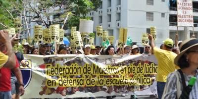 Manifestación Departamento de Educación