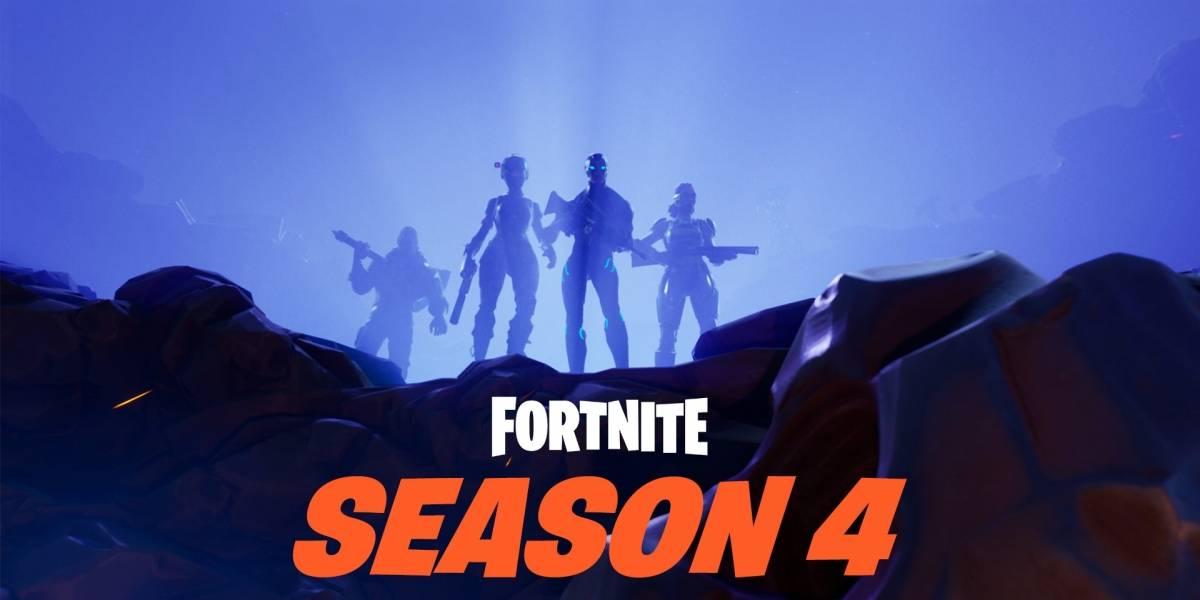 ¡Atención jugadores de Fortnite! Hoy inicia la Temporada 4 del Battle Royale [Actualizado]