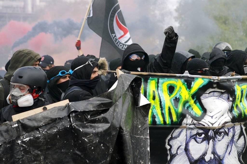 Marchas por el Día del Trabajo en Francia